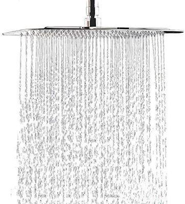 COMLIFE Square Rain Fixed Shower Head