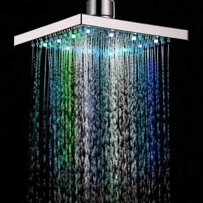 Eidoct Automatic Changing LED Shower Head