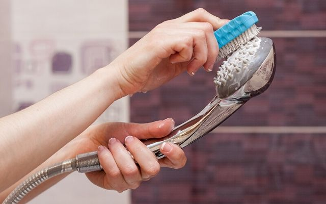 Handheld Shower Head Cleaning Process