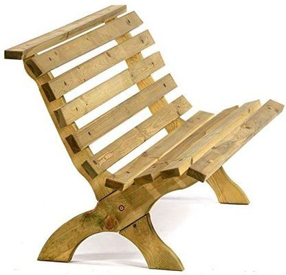 3-Seater Wooden Garden Bench