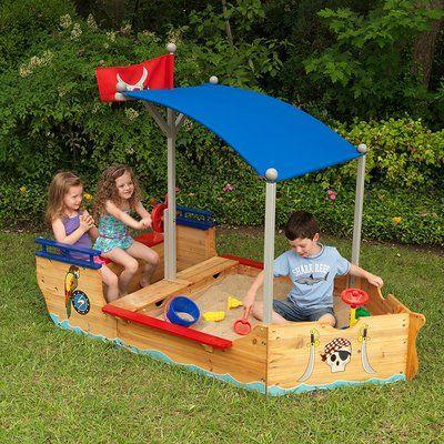 KidKraft Garden Sandbox for Kids