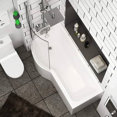 Royal Bathrooms P-Shaped Bathtub