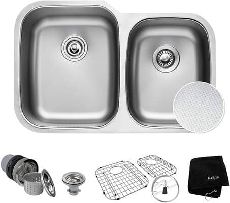 KRAUS Double Bowl Sink