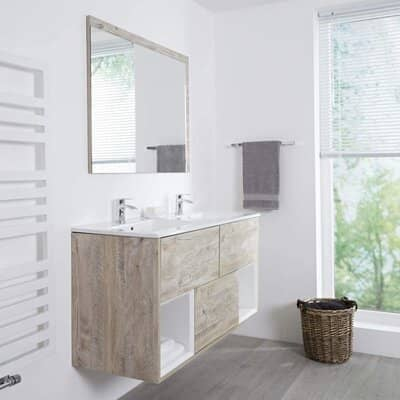 Milano Bathroom Vanity Unit