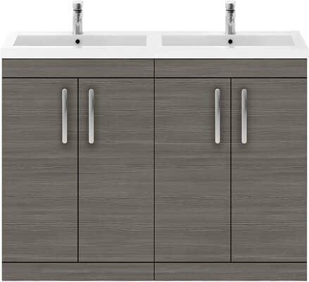Premier Floor Standing Cabinet & Double Basin