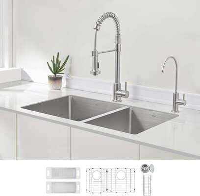 Zuhne Double Bowl Sink