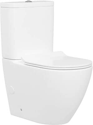 Abacus Modern Close Coupled Toilet