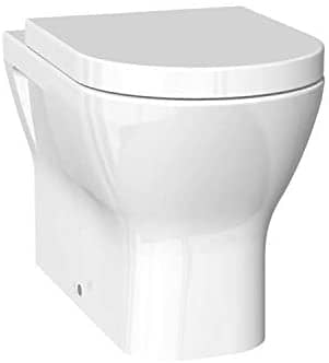 Back to Wall Rimless WC Toilet Pan