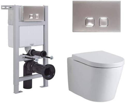Bathroom Round Toilet