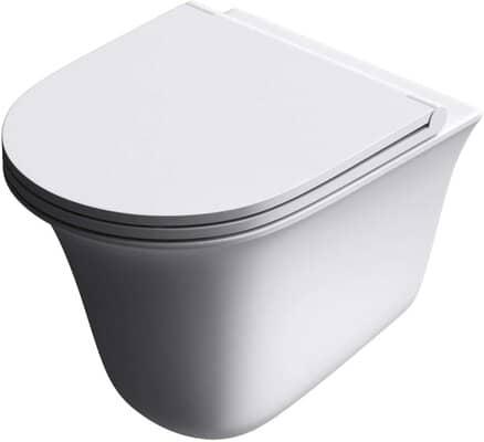 Ceramic Rimless Wall Hung Toilet