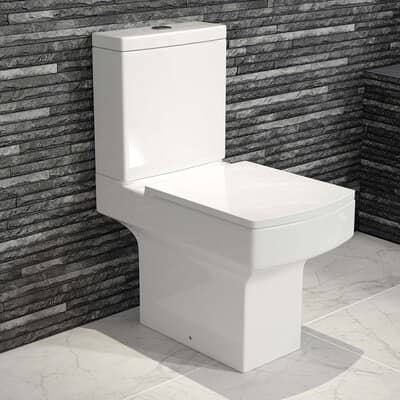 Close Coupled Toilet & Cistern