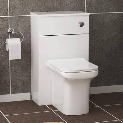 Crosby Rimless Back to Wall Toilet