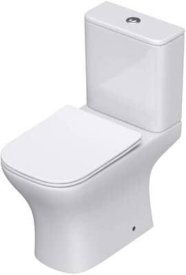 Durovin Bathrooms Close Coupled Toilet