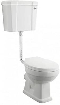 Home Standard Traditional Low-Level Toilet