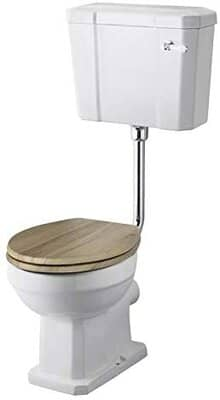 Milano Richmond Close Coupled Toilet Pan