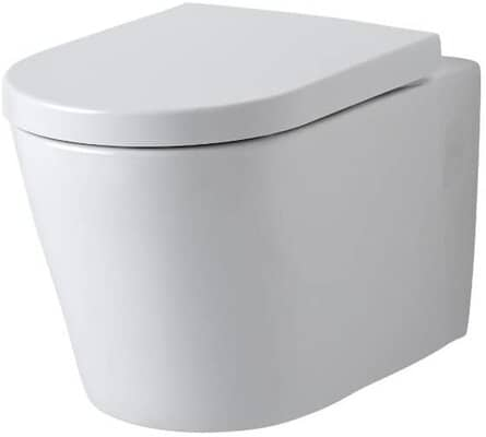 Modern Wall Hung Rimless Toilet WC