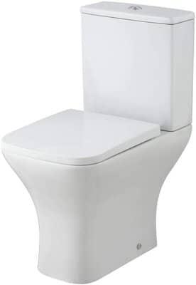 Rimless Bathroom Close Coupled Toilet