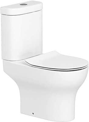 Rimless Close Coupled Toilet