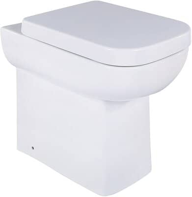The Bath People Square Toilet Pan
