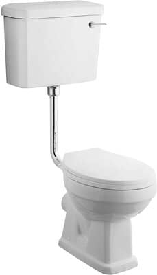 Traditional Bathroom Low-Level Pan