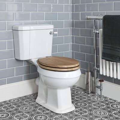 Traditional Close Coupled Toilet Pan