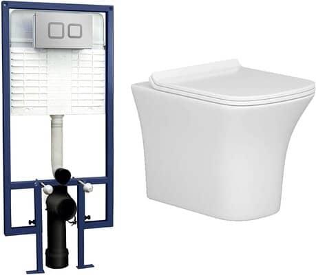 Wall Hung Rimless Toilet