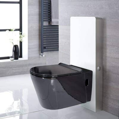 White 483mm Bathroom Toilet WC