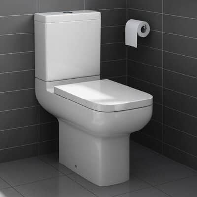 iBathUK Close Coupled Toilet