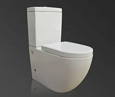 Back to Wall Toilet Close Coupled WC