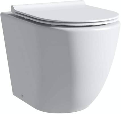 Comfort Height Back to Wall Toilet