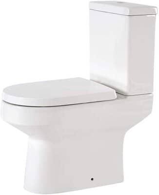 Modern Close Coupled Toilet Pan WC