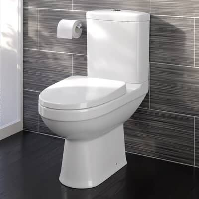 iBathUK Modern Close Coupled Toilet